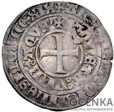 Серебряная монета Грош Средневековой Германии