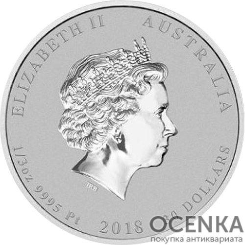 Платиновая монета 30 долларов Австралии