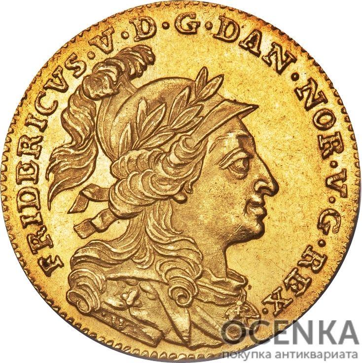 Золотая монета 12 Марок (12 Mark) Дания - 1