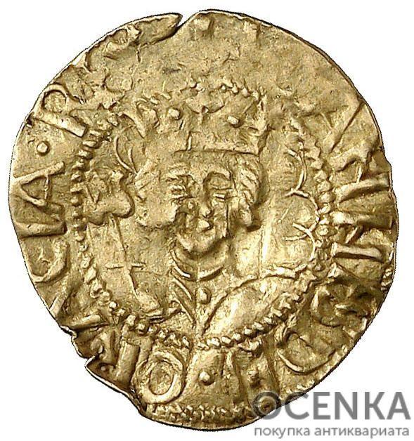 Золотая монета ¼ Пасифико (¼ Pacifico) Испания - 1