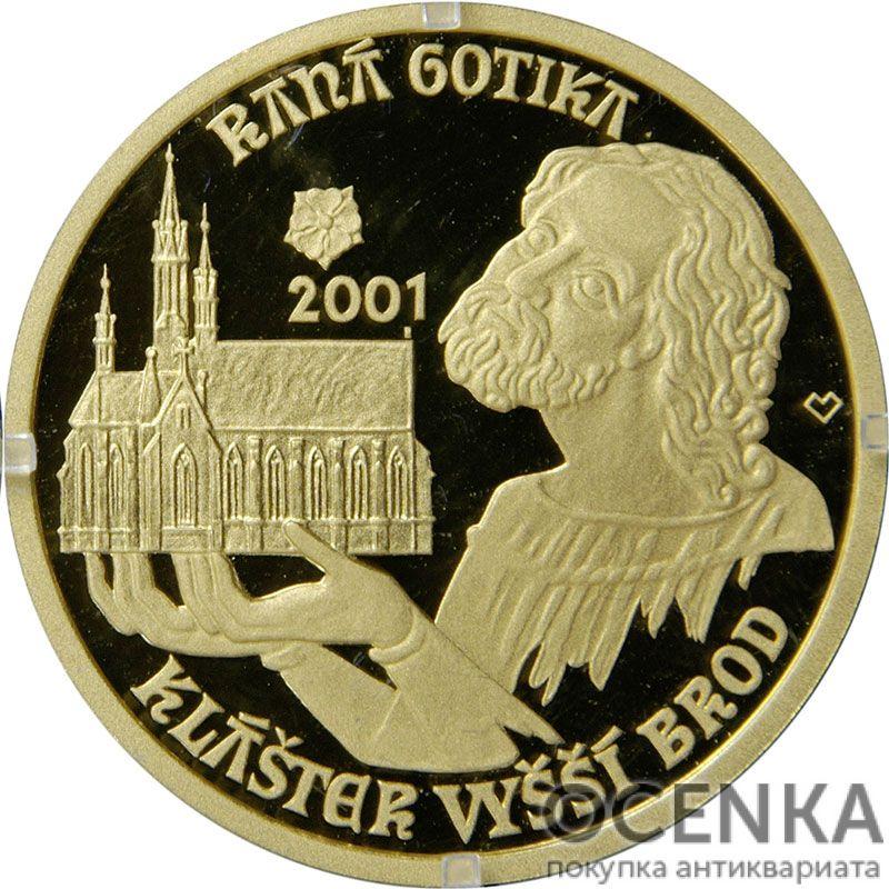 Золотая монета 2000 Крон (2000 Korun) Чехия - 1