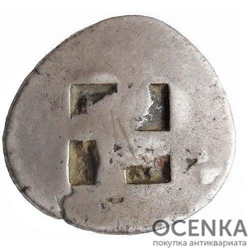 Серебряная монета Статер Древней Греции - 1