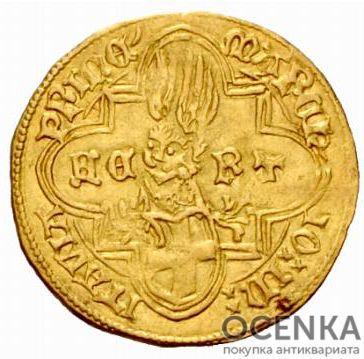 Золотая монета 1 Дукат (1 Ducat) Франция