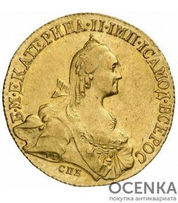 10 рублей 1772 года Екатерина 2 - 1