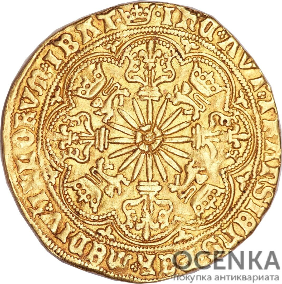 Золотая монета 1 Ryal (райол) Великобритания - 1