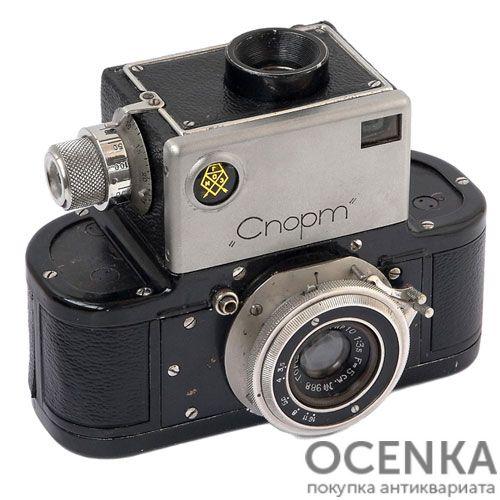 Фотоаппарат Спорт ГОМЗ 1935-1941 год