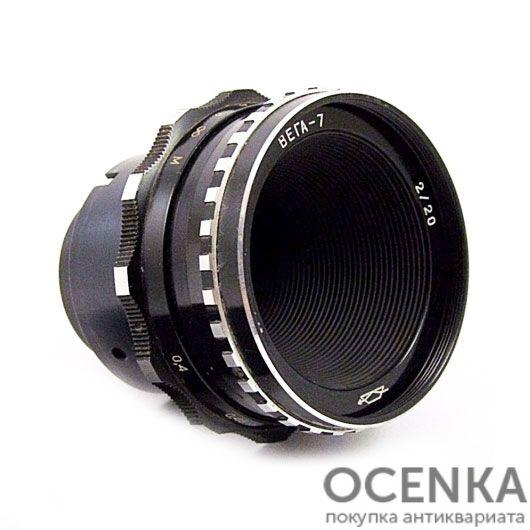 Объектив Вега-7 2.0/20 мм