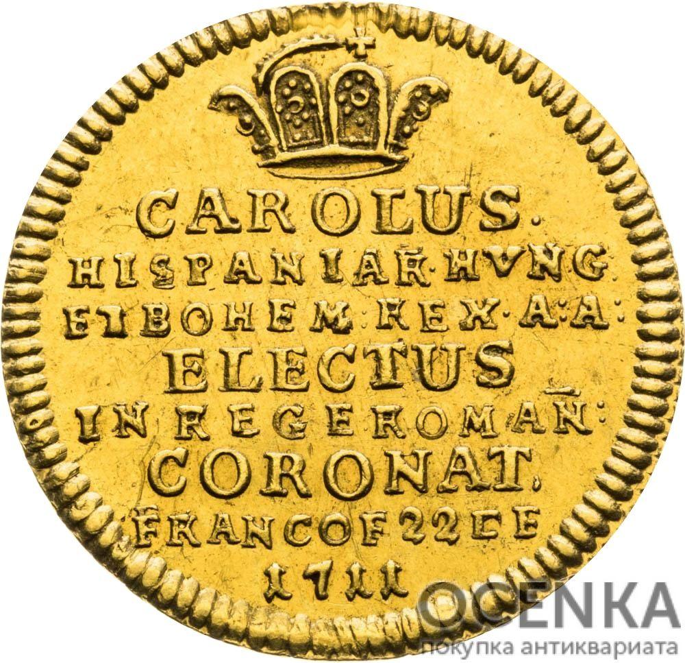Золотая монета ¾ Дуката Германия - 1