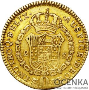 Золотая монета 1 эскудо (1 Escudos) Боливия