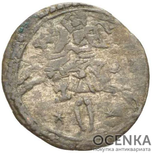Серебряная монета Двойной Денарий Средневековой Литвы - 7
