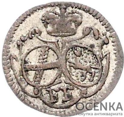 Серебряная монета 2 Пфеннига (2 Pfennig) Германия - 7