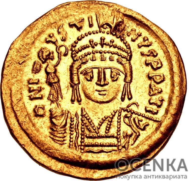 Золотой солид Византии, Флавий Юстин II Юниор Август, 565-578 год