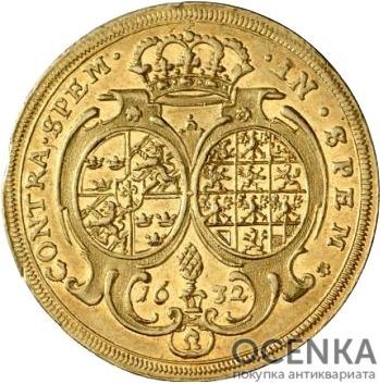 Золотая монета 2 Дуката Германия