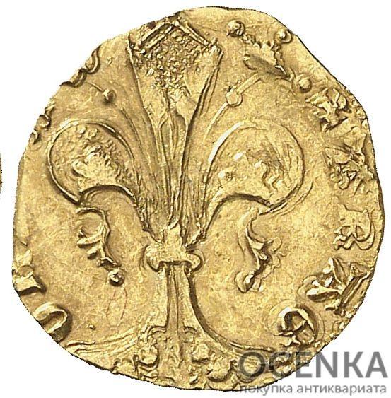 Золотая монета ½ Флорина (½ Florin) Испания - 4