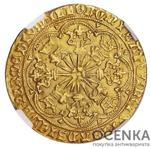Золотая монета 1 Ryal (райол) Великобритания - 3