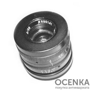 Объектив Гелиос-3, 2.0/100 мм