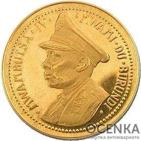 Золотая монета 50 Франков (50 Francs) Бурунди - 3