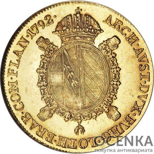 Золотая монета 1 соверен Австро-Венгрии