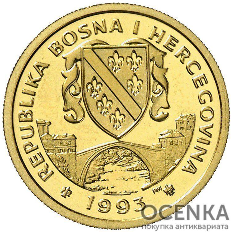 Золотая монета 70 Экю (70 Ecus) Босния и Герцеговина - 1