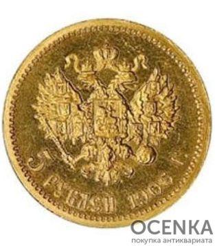 5 рублей 1906 года Николай 2