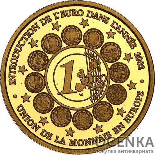 Золотая монета 1500 Франков Бенина - 1