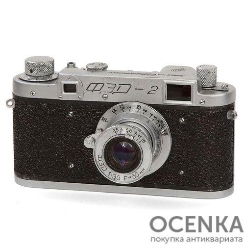 Фотоаппарат ФЭД-2 первый выпуск 1955-1956 год