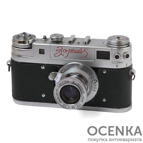 Фотоаппарат Зоркий-5 КМЗ 1958-1959 год