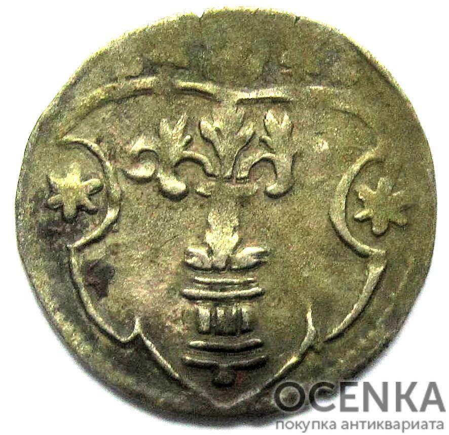 Серебряная монета 3 Пфеннига (3 Pfennig) Германия - 1