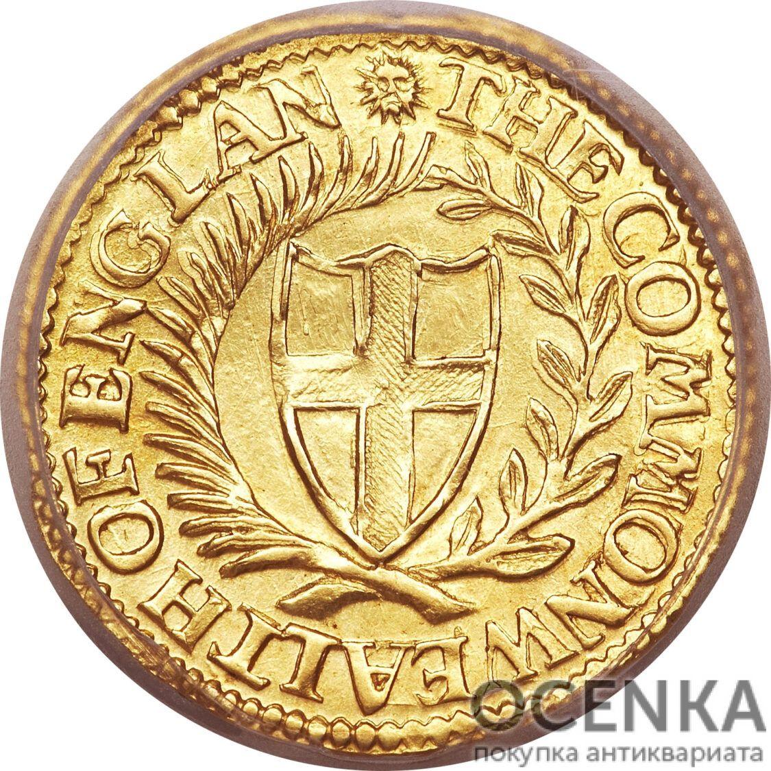 Золотая монета 1 Crown (крона) Великобритания - 10