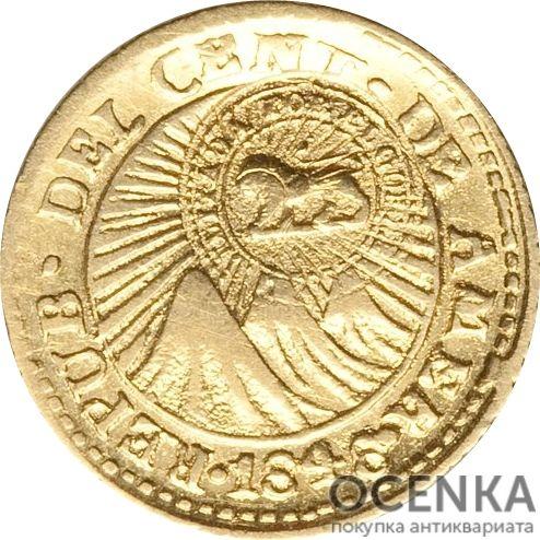 Золотая монета ½ Эскудо (½ Escudo) Коста Рика - 1