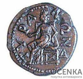 Медная монета Тетрассарий Северного Причерноморья