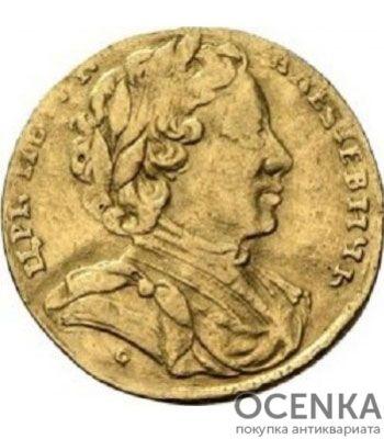 1 червонец 1710 года Петр 1 - 1