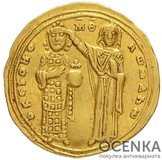 Золотой гистаменон Византии, Роман III Аргир, 1028-1034 год - 1