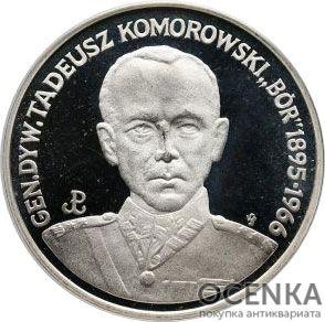 Серебряная монета 200 000 Злотых (200 000 Złotych) Польша - 1