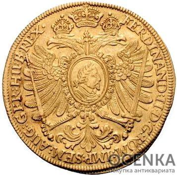Золотая монета 8 Дукатов Германия - 1