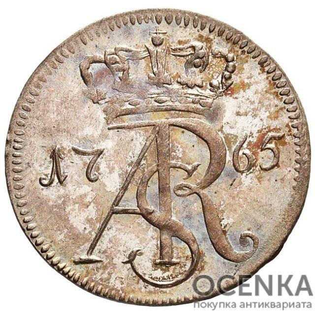 Серебряная монета Трояк (3 гроша) Средневековой Польши - 2
