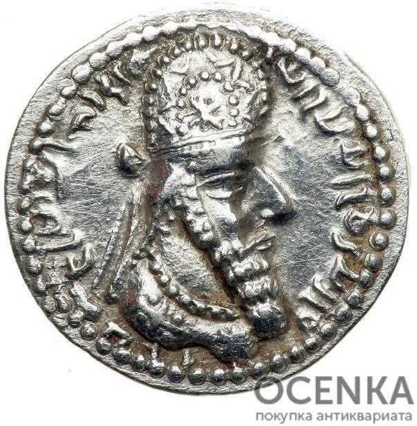 Серебряная монета Обол Древней Греции - 3