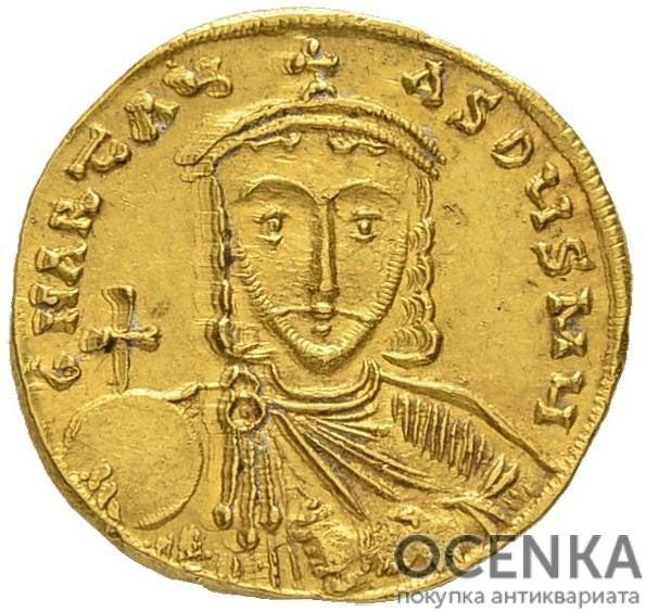 Золотой солид Византии, Артавазд, 742-743 год