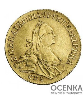 1 червонец 1763 года Екатерина 2 - 1
