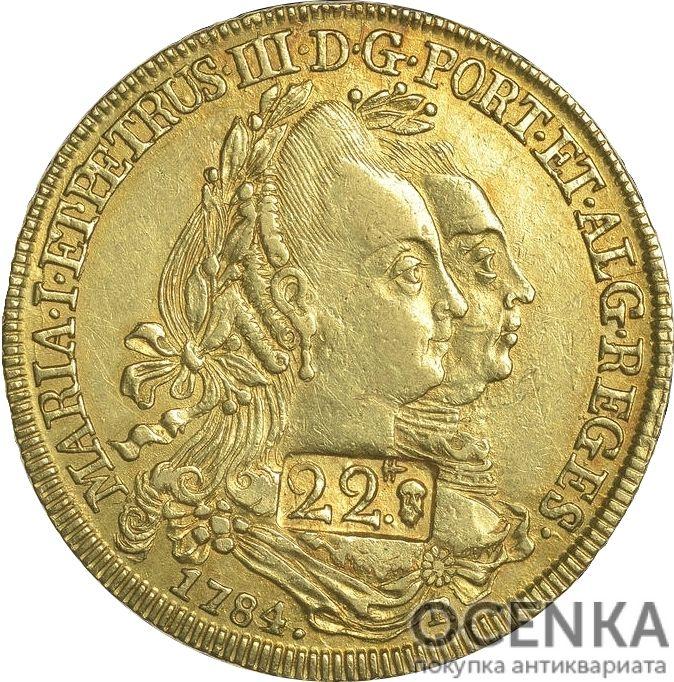 Золотая монета 22 Ливра (22 Livres) Франция