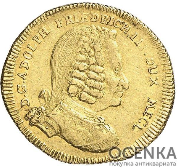Золотая монета 1 Пистоль Германия - 1