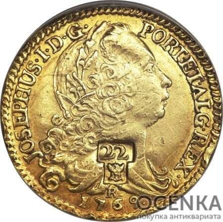 Золотая монета 22 Ливра (22 Livres) Франция - 4