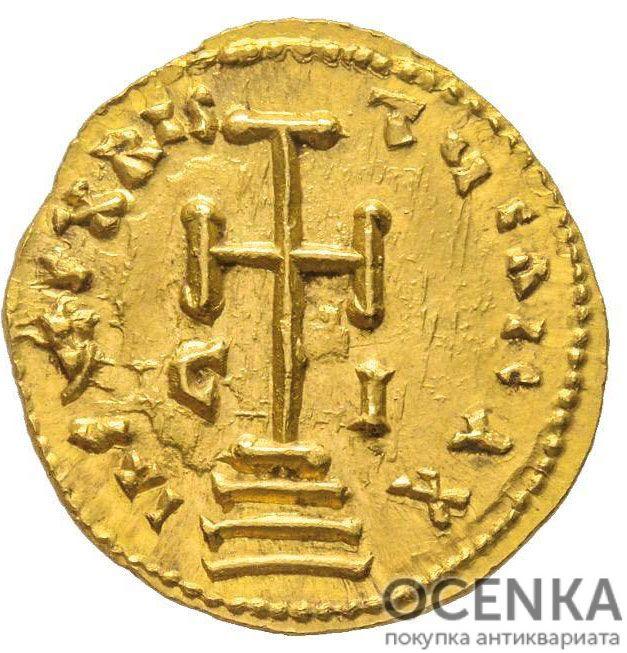 Золотой солид Византии, Никифор I Геник, 802-811 год - 1