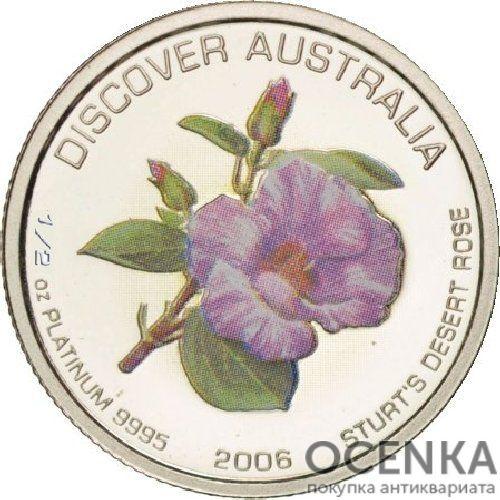 Платиновая монета 50 долларов Австралии - 2
