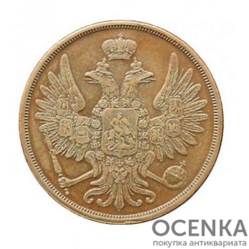 Медная монета 2 копейки Александра 2 - 2