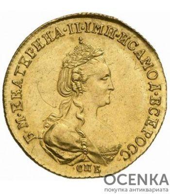 5 рублей 1781 года Екатерина 2 - 1