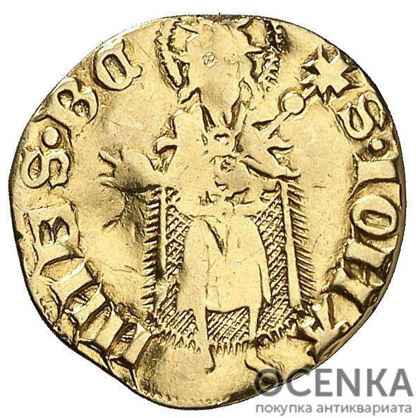 Золотая монета ½ Флорина (½ Florin) Испания - 1