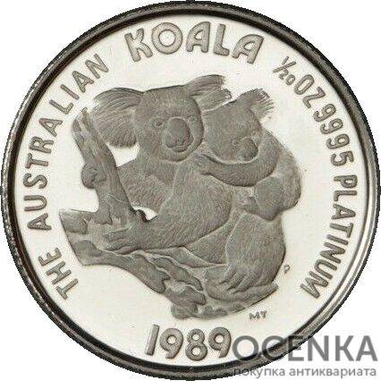 Платиновая монета 5 долларов Австралии - 1