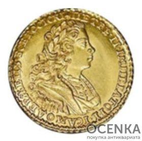 2 рубля 1727 года Петр 2 - 1