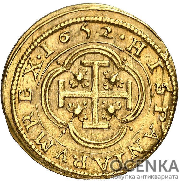 Золотая монета 2 Эскудо (2 Escudos) Испания - 2